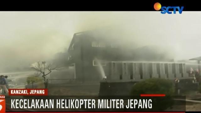 Helikopter tempur tersebut dibawah kendali Kamp Pelatihan Metabaru Pasukan Bela Diri Jepang Prefektur Saga.