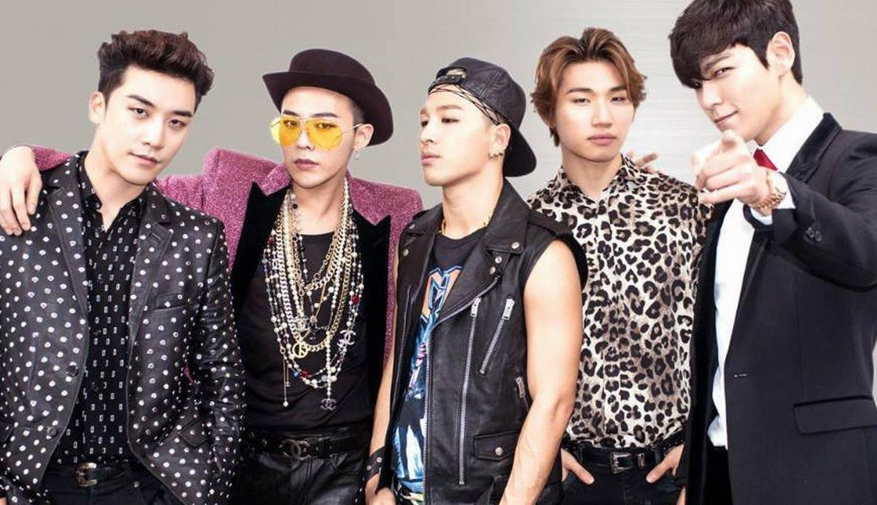 Tak bisa dipungkiri bahwa K-Pop sudah merajai pasar Indonesia untuk waktu bertahun-tahun. Salah satu boyband yang awet dan masih digemari hingga sekarang adalah Big Bang. (Soompi)