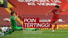 Berita video 6 pemain dengan poin tertinggi di Fantasy Premier League 2019-2020 sementara ini, salah satunya adalah bintang Liverpool, Mohamed Salah.
