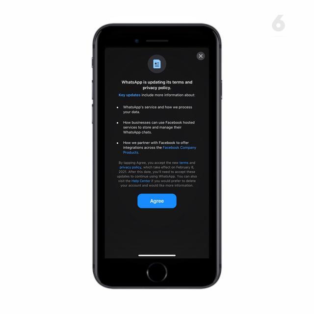 WhatsApp Paksa Pengguna untuk Berbagi Data dengan Facebook. Liputan6.com/Mochamad Wahyu Hidayat