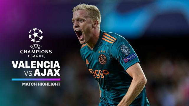 Berita video highlights Grup H Liga Champions 2019-2020 antara Valencia melawan Ajax yang berakhir dengan skor 0-3, Rabu (2/10/2019).