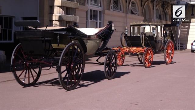 Pangeran Harry dan Meghan Markle akan menggunakan kereta kuda Ascot Landau pada hari pernikahannya.