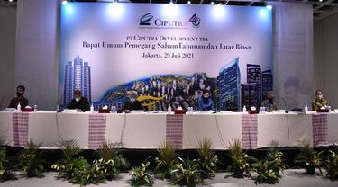 RUPST PT Ciputra Development Tbk/CTRA pada Kamis, 29 Juli 2021 (Dok: PT Ciputra Development Tbk)