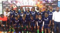 Tim asal Afrika, Divine Ark, mengikuti Super Soccer Futsal Battle 2018 karena kurangnya kompetisi futsal yang kompetitif di negaranya. (Istimewa)