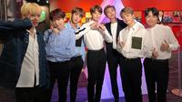BTS tampil di America's Got Talent. (Foto: Twitter/bts_bighit)