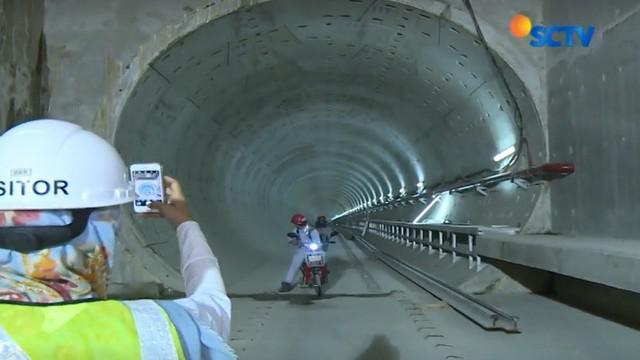 Moda transportasi massal seperti Mass Rapid Transit (MRT) Jakarta akan beroperasi 2019 mendatang.
