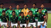 Timnas Bangladesh U-23 membuat kejutan di Asian Games 2018. (Bola.com/Dok. INASGOC)