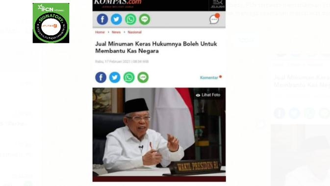 Cek Fakta Liputan6.com menelusuri judul artikel
