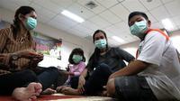 """Pemerintah Provinsi Riau mendirikan """"Posko Rumah Singgah Warga Terdampak Asap"""" yang tersebar di 14 titik lokasi di Kota Pekanbaru. (Dok Badan Nasional Penanggulangan Bencana/BNPB)"""