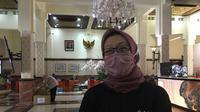 Koordinator Protokol Kesehatan Gugus Tugas Percepatan Penanganan Covid-19 Surabaya, Febria Rachmanita. (Foto: Liputan6.com/Dian Kurniawan)