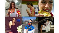 Video aksi Ivana Spanovic atlet lompat jauh puteri jelita asal Serbia. Ia adalah peraih medali emas di Kejuaran Atletik Indoor Eropa di Prague Ceska pada tahun 2015 lalu.