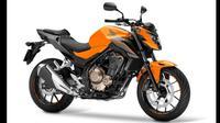 Honda memanfaatkan gelaran EICMA 2015 yang berlangsung di Milan, Italia, untuk meluncurkan model terbaru dari keluarga moge 500 cc