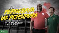 Liga 1 2019: Persebaya Surabaya vs Persipura Jayapura. (Bola.com/Dody Iryawan)