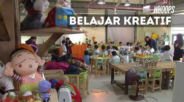 Program reparasi mainan memicu kreatifitas anak-anak sekaligus mengajarkan pentingnya daur ulang.