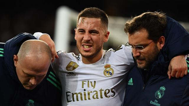 Winger Real Madrid, Eden Hazard.