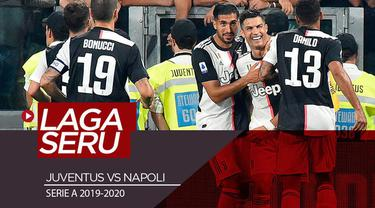 Berita video highlights Serie A 2019-2020 antara Juventus melawan Napoli yang berakhir dengan skor 4-3 berjalan dengan seru dan dramatis, Sabtu (31/8/2019).
