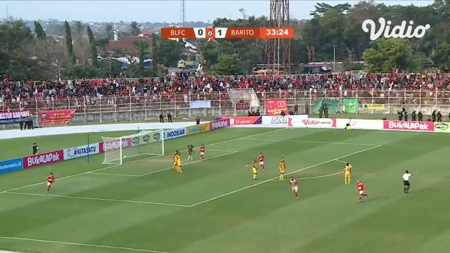 Berita video highlights Shopee Liga 1 2019 antara Perseru Badak Lampung FC melawan Barito Putera yang berakhir dengan skor 3-3, Jumat (5/7/2019).