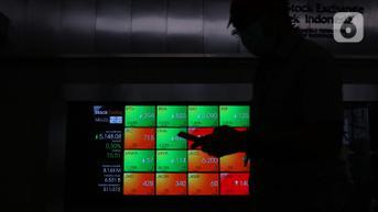 IHSG Bertahan di Posisi 6.100, Investor Asing Buru Saham BBRI hingga PTBA