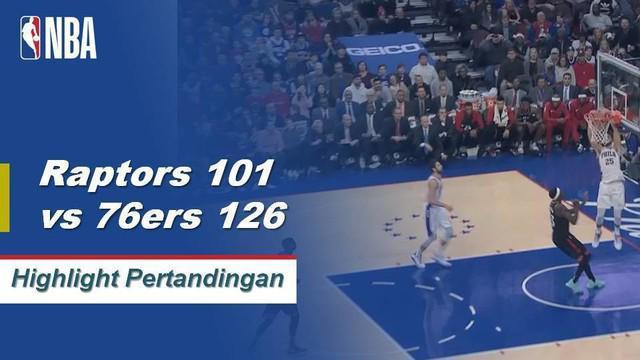 Ben Simmons dan Joel Embiid masing-masing mencetak double-double dan kombinasi 53 poin, Sixers mengalahkan Raptors