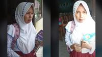Emak-emak Pakai Seragam SD. (TikTok/@buass89)