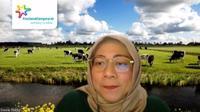 Head of Indulgence & Taste Enhancer Frisian Flag, Dewie Ratna dalam webinar 'What to Ecxpect For Ramadan 2021? Indonesian Consumer Trends' yang diselenggarakan Neurosensum, Rabu, 10 Maret 2020 (Liputan6.com/Komarudin)