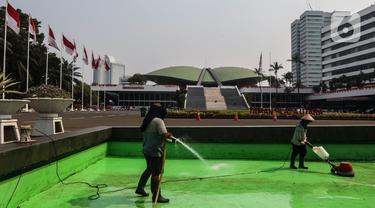 DPR Bersolek Jelang Sidang Tahunan dan Perayaan Kemerdekaan