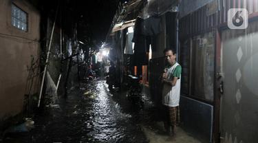 Hujan Deras, Ratusan Rumah di Cipinang Terendam Banjir