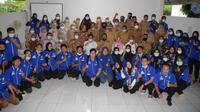 Acara Penguatan Balai Penyuluhan Pertanian (BPP) yang digelar Badan Penyuluhan dan Pengembangan Sumber Daya Manusia Pertanian (BPPSDMP) Kementan di Sukarami, Kota Palembang, Sumatera Selatan, Selasa (9/3/2021). (Ist)