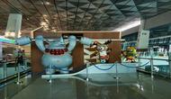 Atribut Asian Games di Bandara Soetta