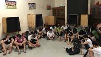 Polisi menangkap 27 WNA China di kawasan Pondok Indah (foto: istimewa)