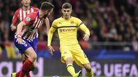 1. Christian Pulisic - Mahar 64 juta euro dikeluarkan Chelsea untuk mendatangakan Pulisic dari Borusia Dortmund. Hal itu menjadi pembelian termahal ketiga Chelsea sepanjang masa. (AFP/Javier Soriano)