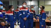 Komisaris Utama Pertamina, Basuki Tjahaja Purnama (BTP) atau Ahok melakukan kunjungan kerja ke PT Kilang Pertamina Internasional (PT KPI) Unit Dumai, Selasa (14/9/2021).