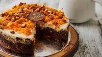 Supper Carrot, kue dari Ann's Bakehouse & Creamery yang diklaim cocok dikonsumsi para pelaku diet. (dok. Ann's Bakehouse & Creamery)