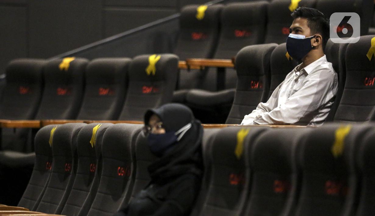 Foto Layanan Sewa Studio Bioskop Di Tengah Pandemi Covid 19 Bisnis Liputan6 Com