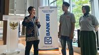 Kegiatan literasi keuangan di Indonesia Exhibition Center, Kantor Dagang dan Ekonomi Indonesia (KDEI) Taipei, Taiwan.