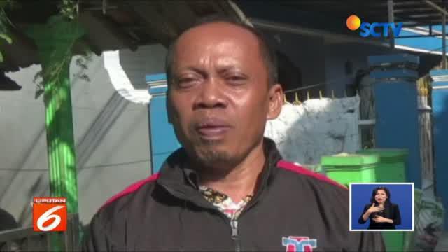 Polisi berharap, warga melaporkan bila menemukan Anwardi, yang dipastikan dalam kondisi luka-luka.