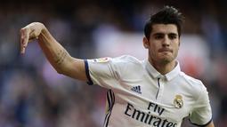 Tak kunjung mendapat jam bermain, ia dilego ke Juventus. Tampil baik, musim berikutnya ia kembali diboyong ke Real Madrid. (AFP/Javier Soriano)
