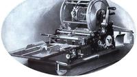 Ilustrasi mimeograf atau mesin stensil. (Public Domain)