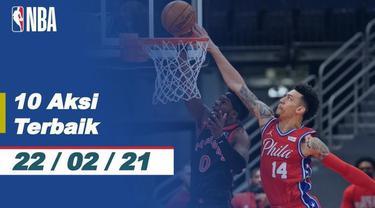 Berita Video 10 Aksi Terbaik NBA 22 Februari 2021, Slam Dunk John Collins