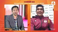 Rivan Nurmulki dalam acara Corner Six Liputan6.com bertajuk Peluang Karier Pevoli Indonesia di Liga Jepang. (Dok Liputan6.com)