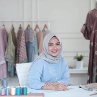 Hijab Ramadan Ria Miranda. (Foto: instagram/ riamiranda)