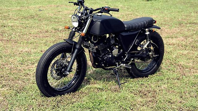 Yamaha Scorpio 'The Rasca' Modifikasi Simpel Tapi Enak Dilihat