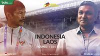Sea Games 2019 - Sepak Bola - Indonesia Vs Laos - Duel Pelatih (Bola.com/Adreanus Titus)