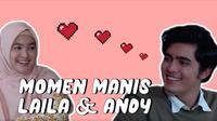Kompilasi Momen Manis Andy dan Laila Dalam Sinetron Jangan Panggil Gue Pak Haji. sumberfoto: SCTV