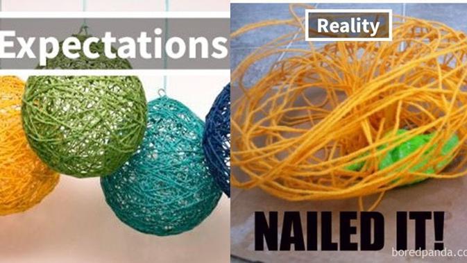 DIY gagal (Sumber: Boredpanda)