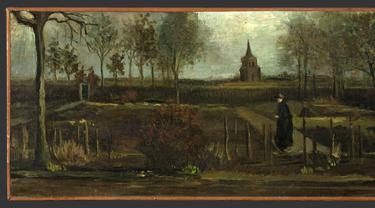 Lukisan Van Gogh Digondol Maling Saat Sepi Akibat Pandemi Corona COVID-19
