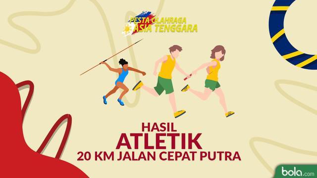 Berita video catatan Hendro Yap saat meraih emas jalan cepat 20km putra di SEA Games 2019.