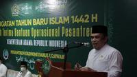 Menag Fachrul Razi Serahkan Bantuan ke Pesantren NU di Jakarta