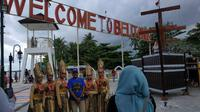 Festival Tanjung Kelayang 2018 full dengan musik dangdut. Parade musik dangdut disajikan penuh selama dua hari.
