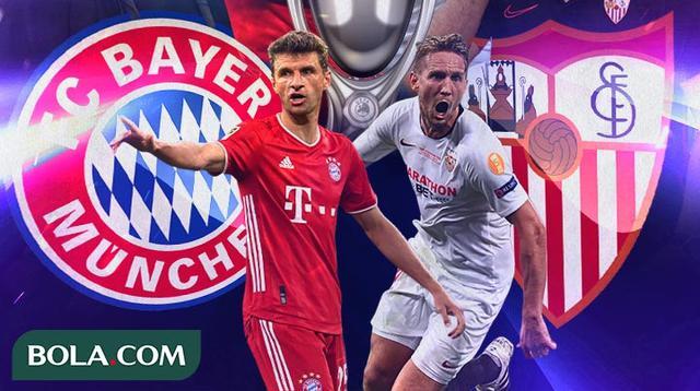 UEFA Super Cup - Bayern Munchen Vs Sevilla (Bola.com/Adreanus Titus)